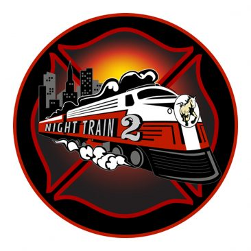 SLO City Fire Station #2 – Night Train Logo