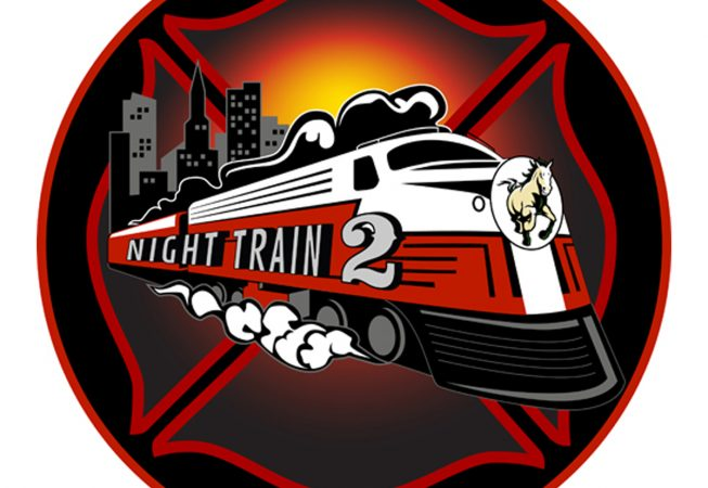 Logo and Branding: The Night train is the Nick-Name given to the fire crew dedicated to responding to overnight incidents on the Cal Poly SLO campus.