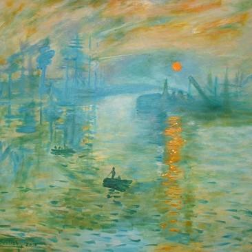 Monet's Sunset (Study)