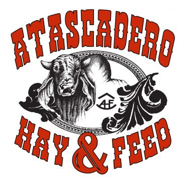 Atacsadero Hay and Feed Logo