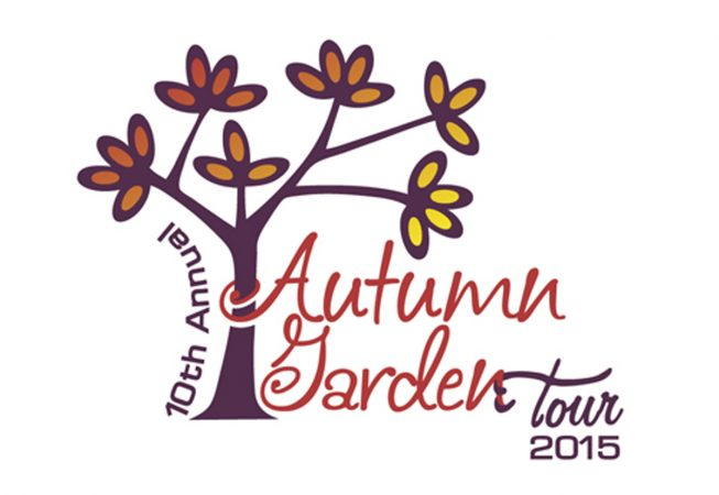 Logo and Branding: The Autumn Garden Tour is an Annual Event that tours communities and their low-water landscapes and other landscaping ideas to promote water conservation.