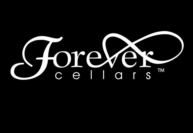 Logo and Branding: The gift of Forever, Each bottle was locally grown, bottled, and labeled for several unique occasions. Hand Rhine stoned labels makes each bottle unique.
