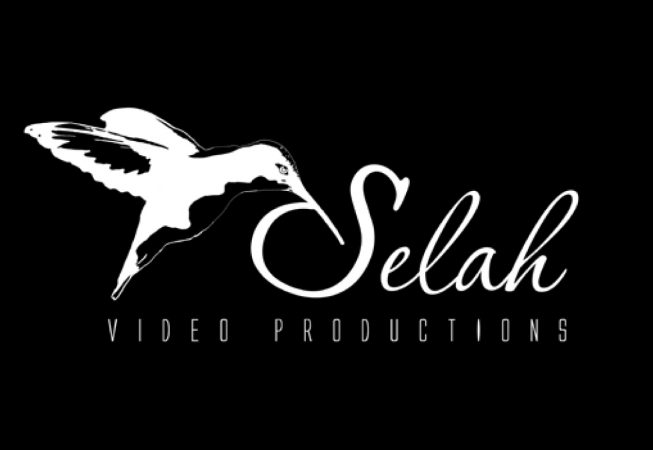 Logo and Branding: Selah, a pause, a breath to contemplate the moment... and the capturing of the beat of a dancing hummingbird's wings. The video company films weddings, and other moments that would otherwise fly by if not captured on film.