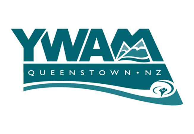 Logo and Branding: Youth With A Mission wanted a logo that reflected where their ministry is located- near the shar peaks and pristine lake shore in Queenstown, Newzealand.