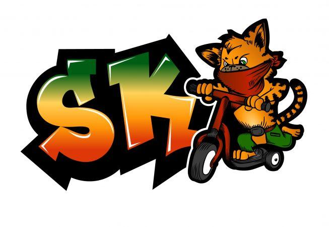 Scooter Kat - Logo Design by ishCreatives