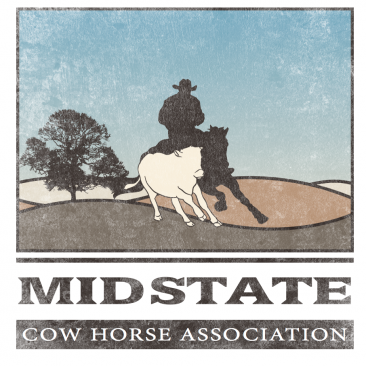 Mid State Cow Horse Association-Logo Design
